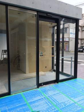 整体院様 自動ドア工事施工後
