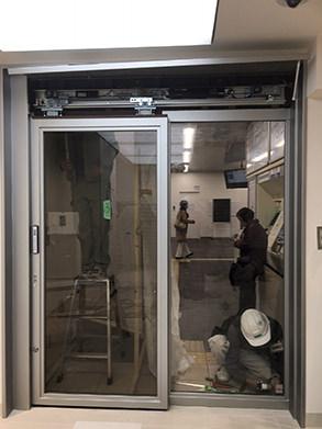 自動ドア施工後3
