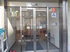自動ドア装置施工完了