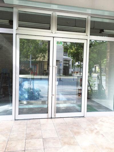 神戸市東灘区自動ドア入れ替え工事