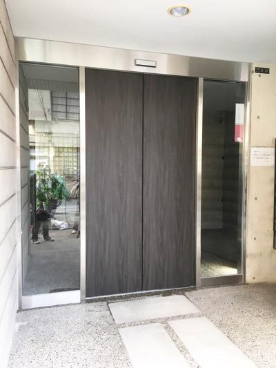 東大阪市自動ドア工事
