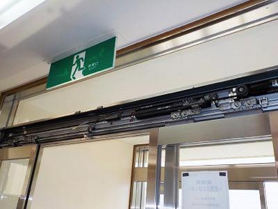 姫路市 薬局自動ドア装置取り付け前