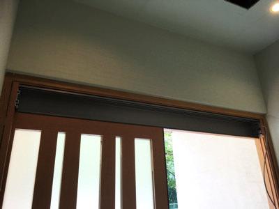 玄関自動ドア装置施工前