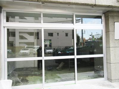 大阪市内 フロントサッシ交換事例
