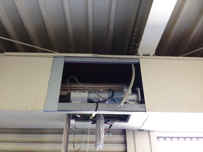 泉佐野市 シャッター安全装置取り付け工事 完了