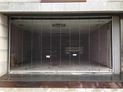 大阪市浪速区 車庫シャッター交換工事完了