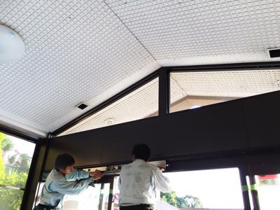 富田林市 某老人ホーム自動ドア工事