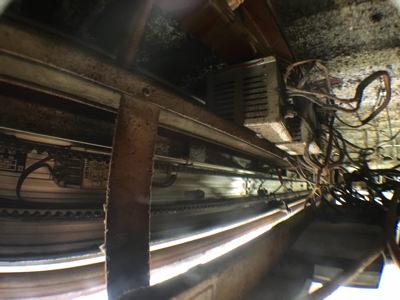 施工前自動ドアエンジン