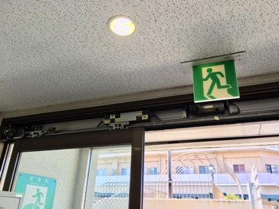 自動ドア装置取替前