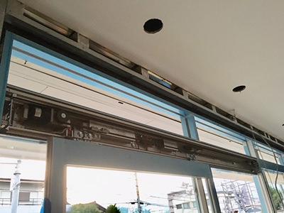 片引き自動ドア装置施工完了