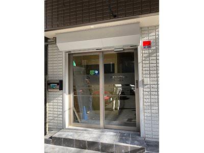 自動ドア装置&テンキー新設工事完了
