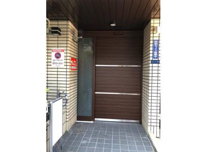 自動ドア&フロントサッシ施工完了