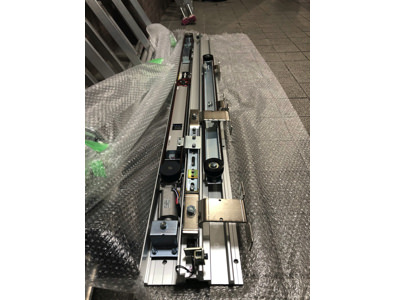 Wスライド電気錠付き自動ドア装置